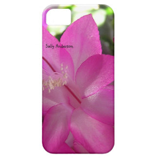 Pink Christmas Cactus iPhone SE/5/5s Case