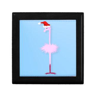 Pink Christmas Flamingo 1 Premium Gift Boxes