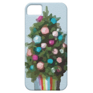 Pink Christmas Trees Super Cute Collection iPhone SE/5/5s Case