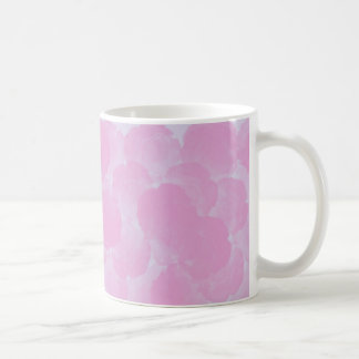 Pink chroma rose blooms mug