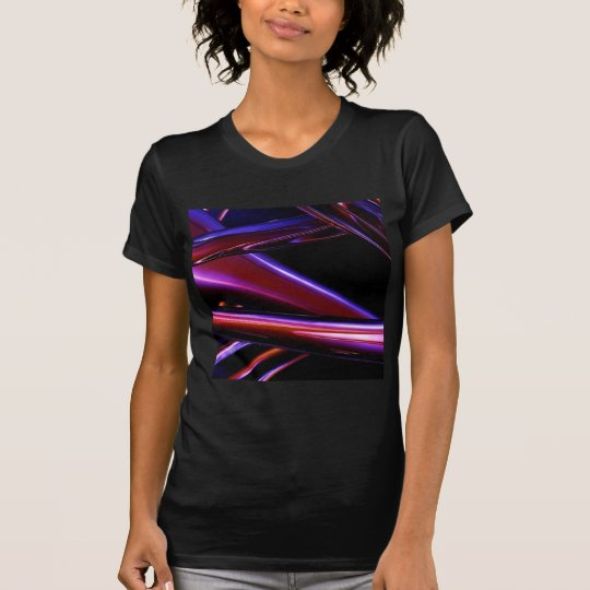 Pink Chrome Swirl T-Shirt
