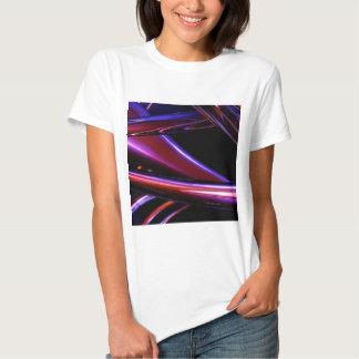 Pink Chrome Swirl T-Shirt