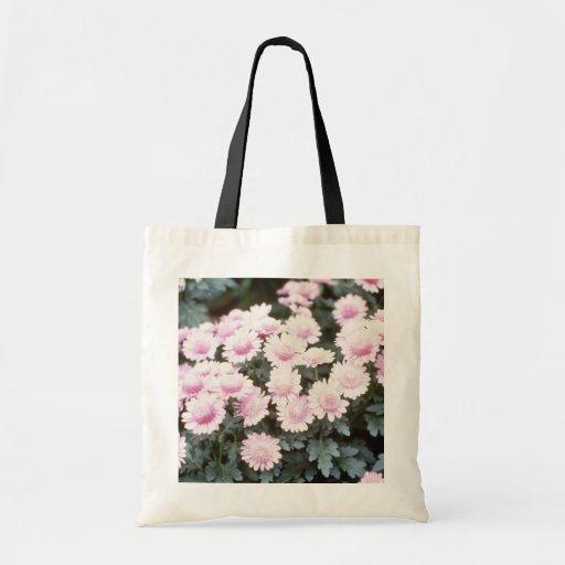 Pink Chrysanthemum 'Cherub' (Florist Chrysanthemum Canvas Bag