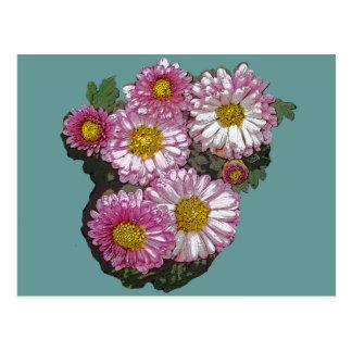 Pink Chrysanthemum Gifts Postcard