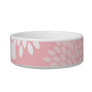 Pink Chrysanthemums Floral Pattern Bowl