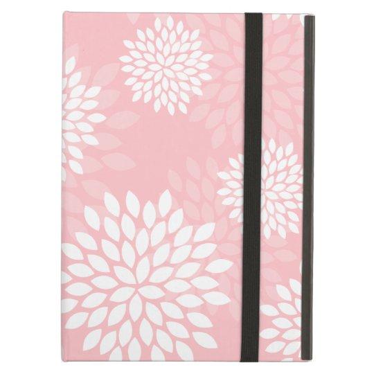Pink Chrysanthemums Floral Pattern iPad Air Case