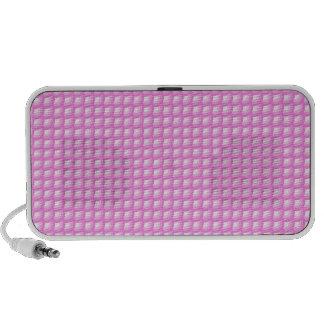 Pink Clam Shell Pattern Speaker