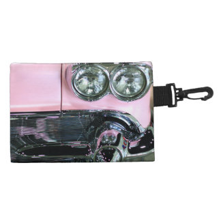 Pink Classic Car Accessories Bags