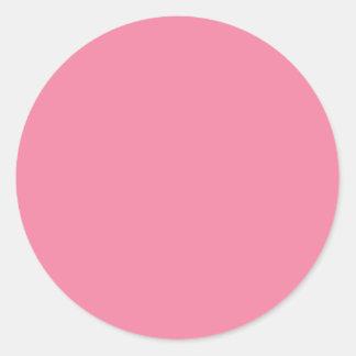 Pink Classic Round Sticker