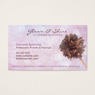 Cleaning Service Business Cards & Templates | Zazzle