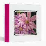 Pink Clematis Binder
