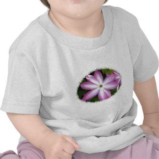 Pink Clematis Tee Shirts