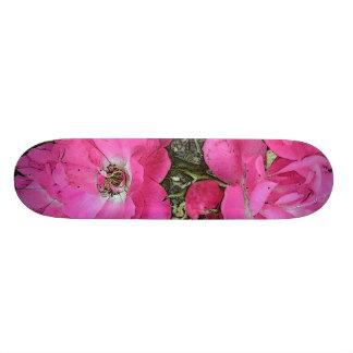 Pink Climbing Rose Skateboard