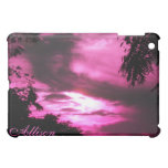 Pink Clouded Sky iPad Case *personalize*
