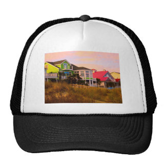 Pink Clouds at Isle of Palms Mesh Hat