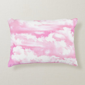 Pink Clouds Decor ready to customize Accent Pillow