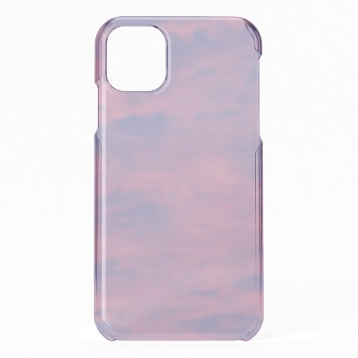 Pink Clouds Photo iPhone 11 Case