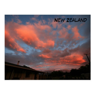 Pink Clouds Postcard