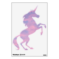 Pink Clouds Unicorn (Right) Wall Decal