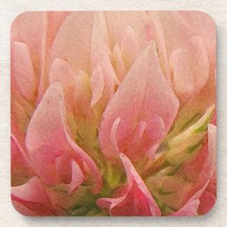 Pink Clover Coaster