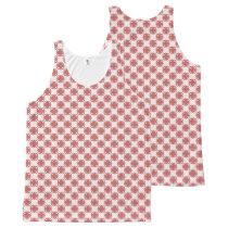 Pink Clover Ribbon All-Over-Print Tank Top