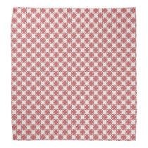 Pink Clover Ribbon Bandana