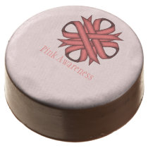 Pink Clover Ribbon by Kenneth Yoncich Chocolate Covered Oreo