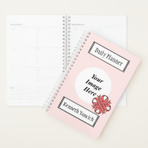 Pink Clover Ribbon by Kenneth Yoncich Planner