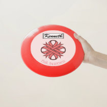 Pink Clover Ribbon by Kenneth Yoncich Wham-O Frisbee