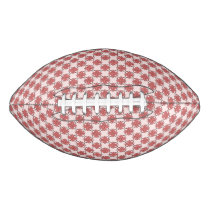 Pink Clover Ribbon Football