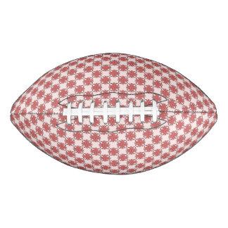 Pink Clover Ribbon Football