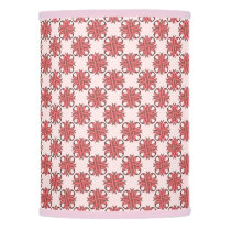 Pink Clover Ribbon Lamp Shade