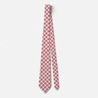 Pink Clover Ribbon Neck Tie