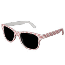 Pink Clover Ribbon Sunglasses