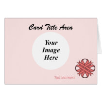 Pink Clover Ribbon Template