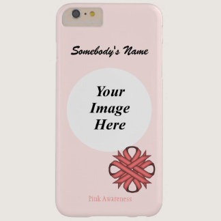 Pink Clover Ribbon Template by Kenneth Yoncich Barely There iPhone 6 Plus Case