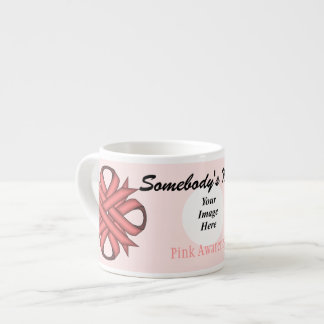 Pink Clover Ribbon Template by Kenneth Yoncich Espresso Cup