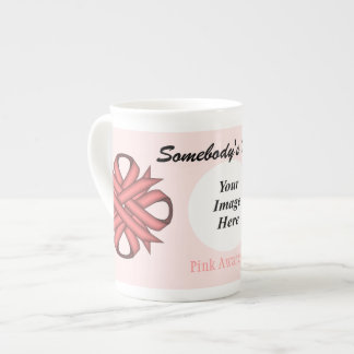 Pink Clover Ribbon Template by Kenneth Yoncich Tea Cup