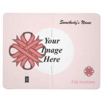 Pink Clover Ribbon Template Journal