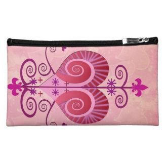 Pink Clutch Makeup Bags