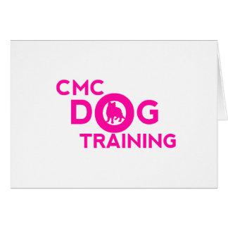 Pink  CMC Logo Card