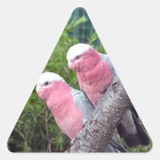 Pink Cockatoos Sticker