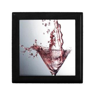 Pink Cocktail 3 Keepsake Box