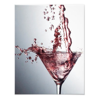 Pink Cocktail 3 Photo Print