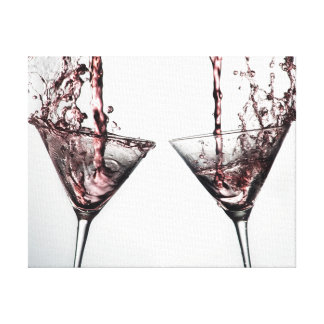 Pink Cocktail 4 Canvas Print