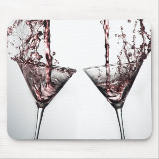 Pink Cocktail 4 Mouse Pad