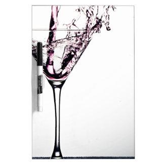 Pink Cocktail Dry-Erase Board