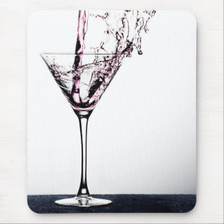 Pink Cocktail Mouse Pad