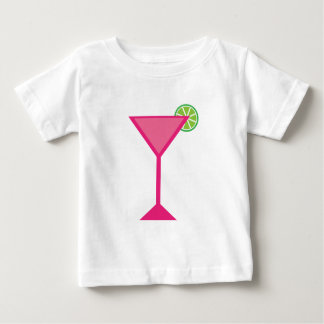 Pink Cocktail With Lime T Shirt