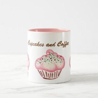 Pink Coffee Cupcake Birthday Mug Gift